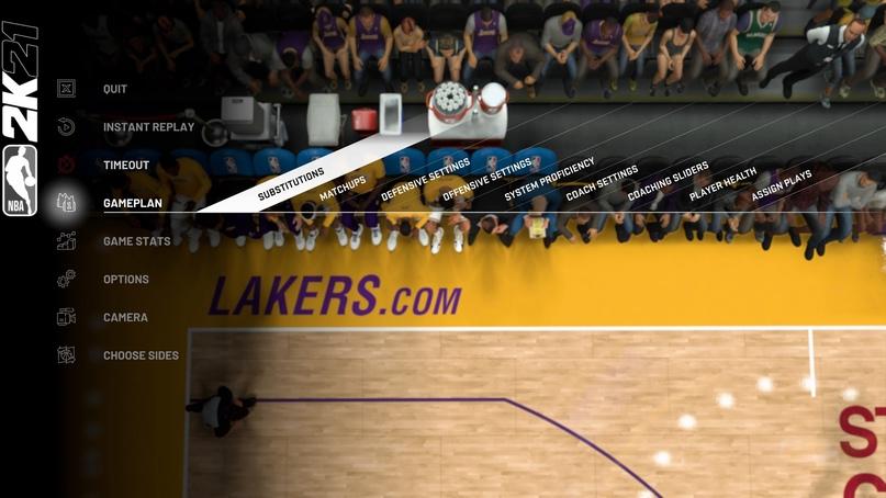Как совершать замены, брать самому тайм-ауты и отключить умышленные фолы в концовке матча, изображение №3