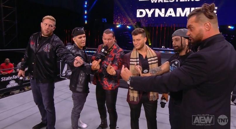 AEW Dynamite и WWE NXT 09.12.20, изображение №6