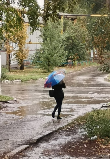 Наступила осень... Стало грустно как то, у кого то...