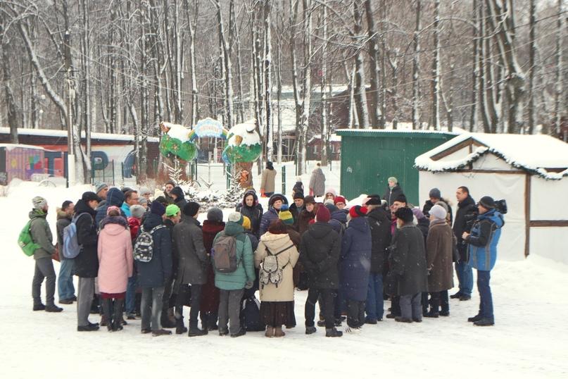 «Народный сход» в парке «Швейцария» 01.02.20. Фото – Илья Мясковский