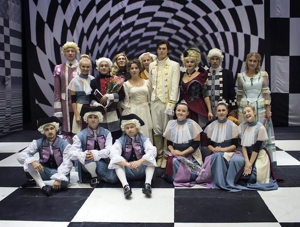 В Kимpax открылся новый театральный сезон! 🎭  Кова...