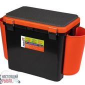 Ящик зимний Helios FishBox 1 секция Тонар (Оранжевый, 19 л)