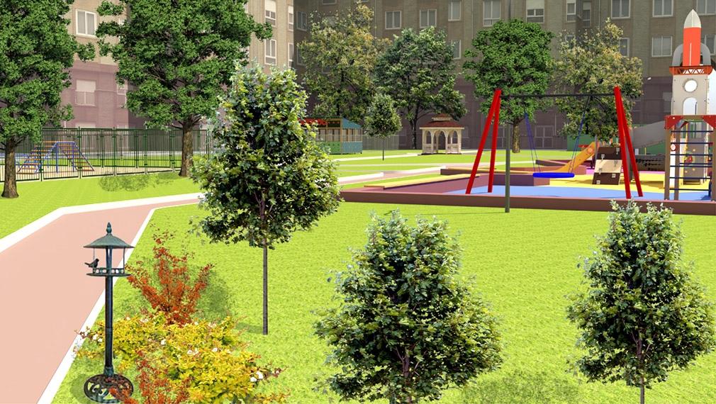 О благоустройстве дворовых территорий в 2021 году в Можге