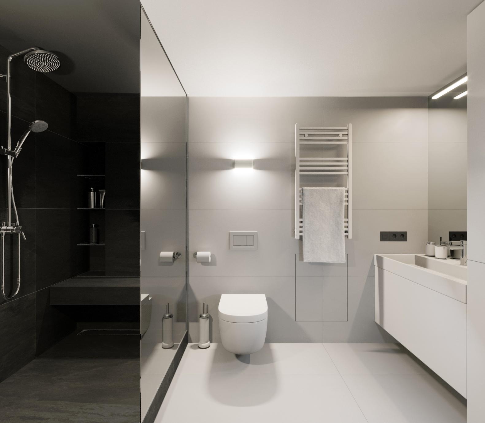 Двухуровневая квартира-студия для холостяка.
