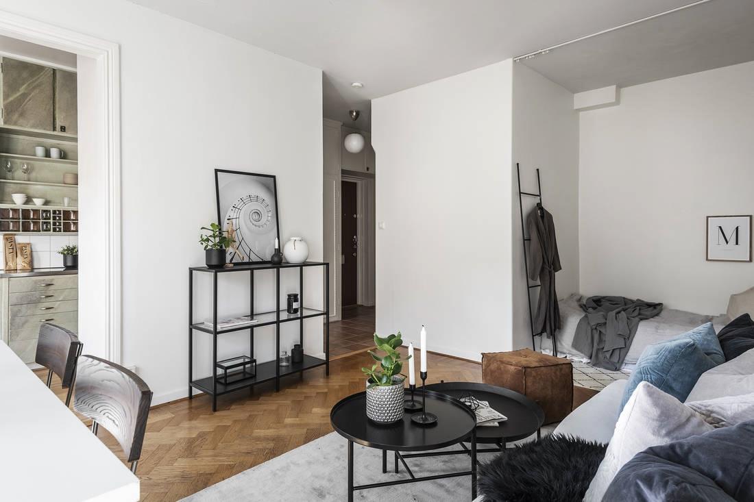 Скандинавская квартира-студия 35 кв.