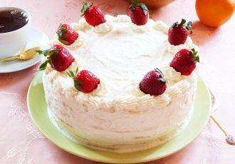 Торт «Молочная девочка» со сливочно-творожным кремом