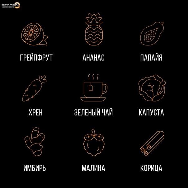 Продукты, которые помогают худеющим 🌷⠀⠀⠀Конечно, в...