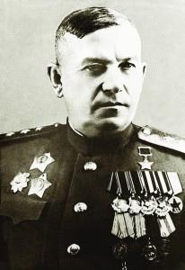Командующий 9-й гв. армией Василий Глаголев