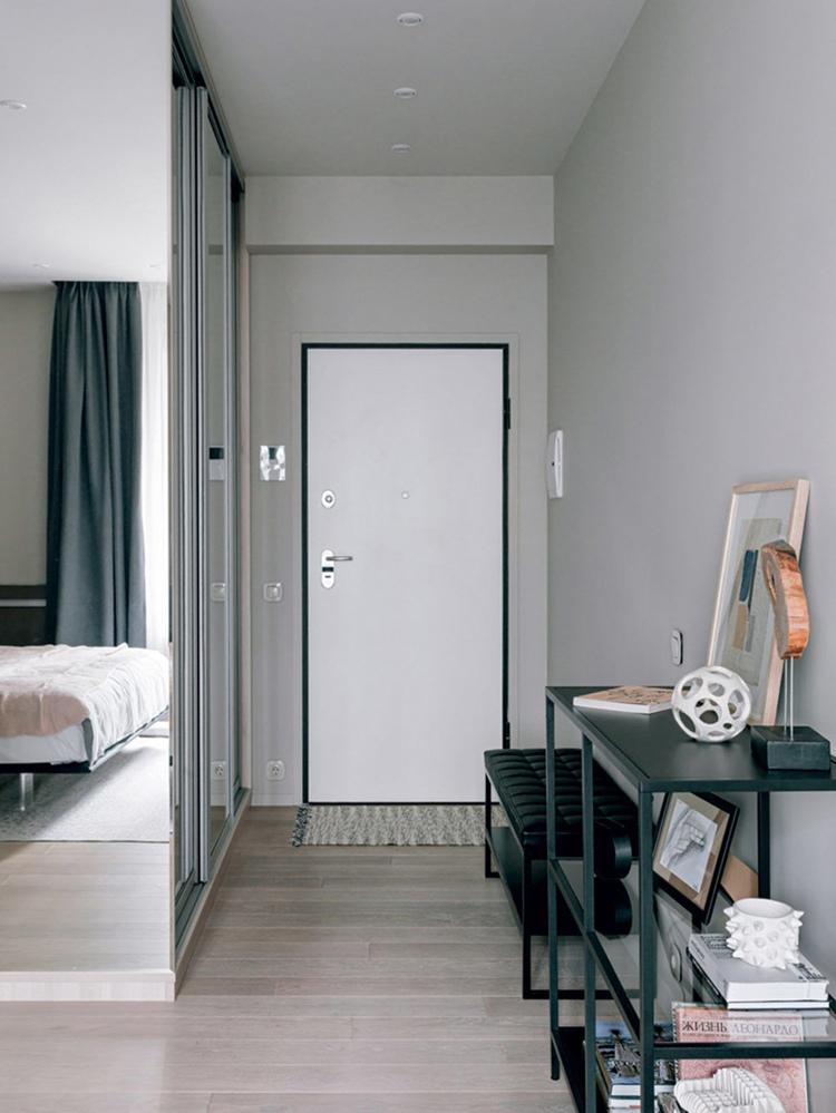 Интерьер квартиры 28 м по проекту Ирины Ежовой.