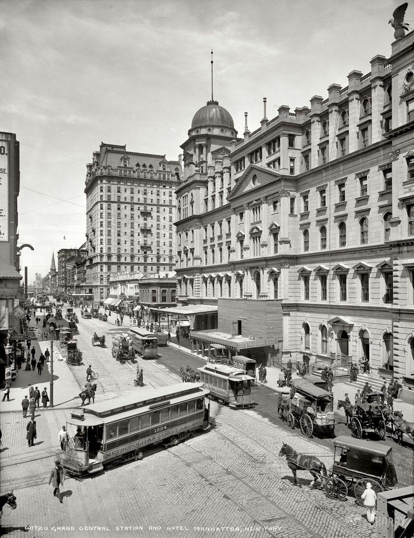 HD-фотографии городов США сделанные в 1900-1915 годах, изображение №12