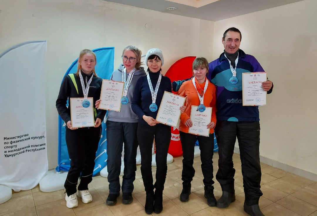 5 медалей привезли можгинские лыжники с V-Зимней