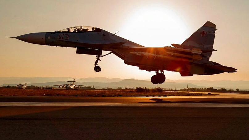 ВКС России нанесли удар по боевикам под Пальмирой