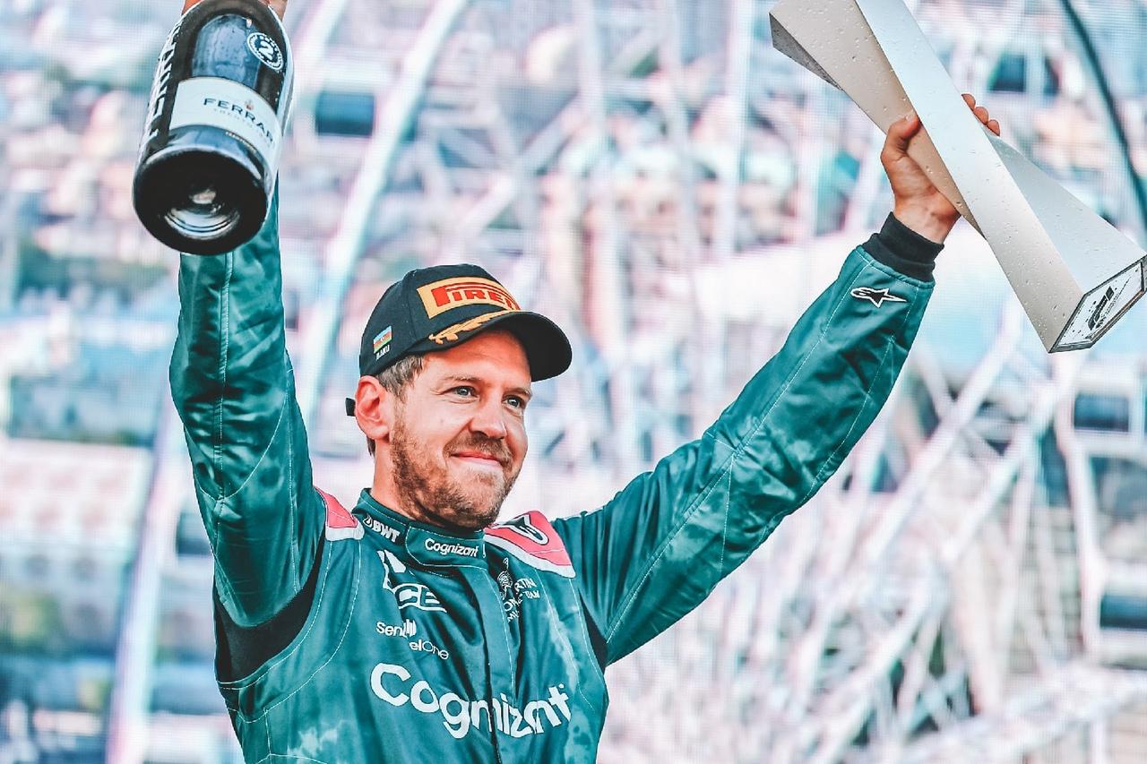 F1 Baku 2021 Sebastian Vettel