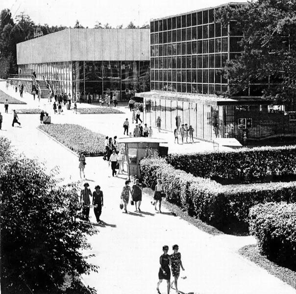 Торговый центр Академгородка, примерно 1970–1980 годы...