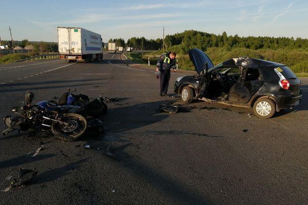 смертельная авария на трассе М7 в Лысковском районе
