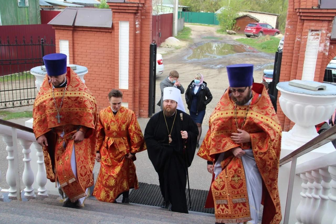 Митрополит Саратовский и Вольский ИГНАТИЙ посещает Петровск с архипастырским визитом
