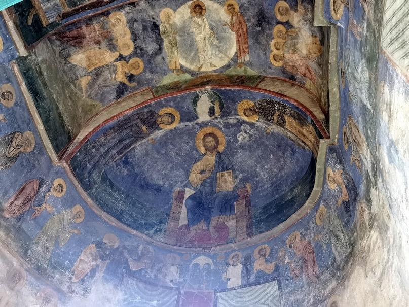 Знаменитые фрески Мирожского Спасо-Преображенского собора