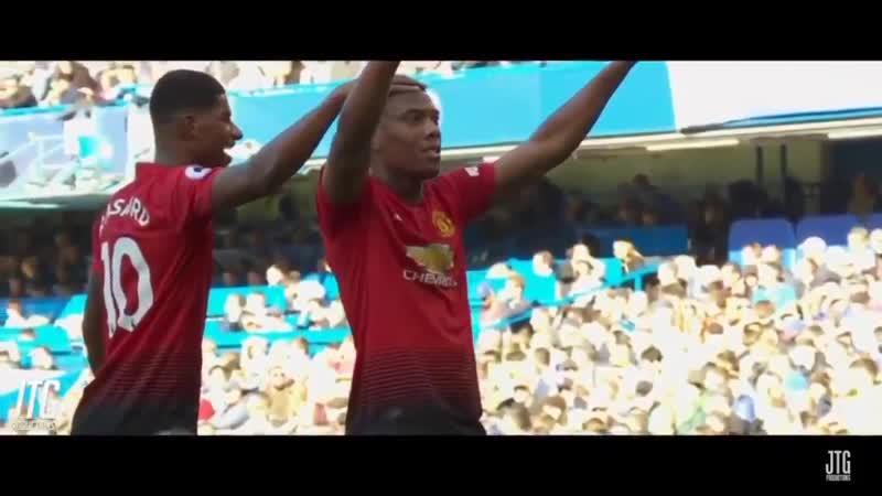 Rashford Assist Martial goal against Chelsea AM9 mufc