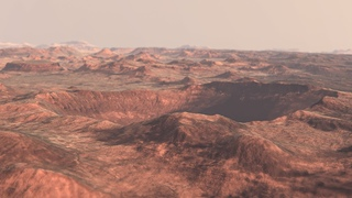 Mars 8k Craters