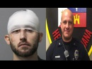 Lafayette Cop Fatally Shot By NeanderThug Ian HowardSuspect Arrested Alive Well