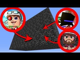 Demaster ВЫЖИВАНИЕ В КОРОБКЕ ИЗ БЕДРОКА В МАЙНКРАФТЕ! ПОСЛЕДНЯЯ НОЧЬ! Minecraft Survive in box