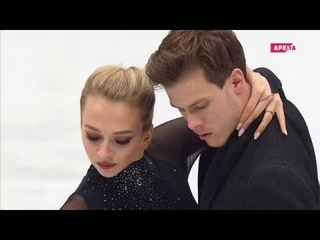 2019 World Championship. Victoria SINITSINA Nikita KATSALAPOV. Rhythm Dance Матч Арена