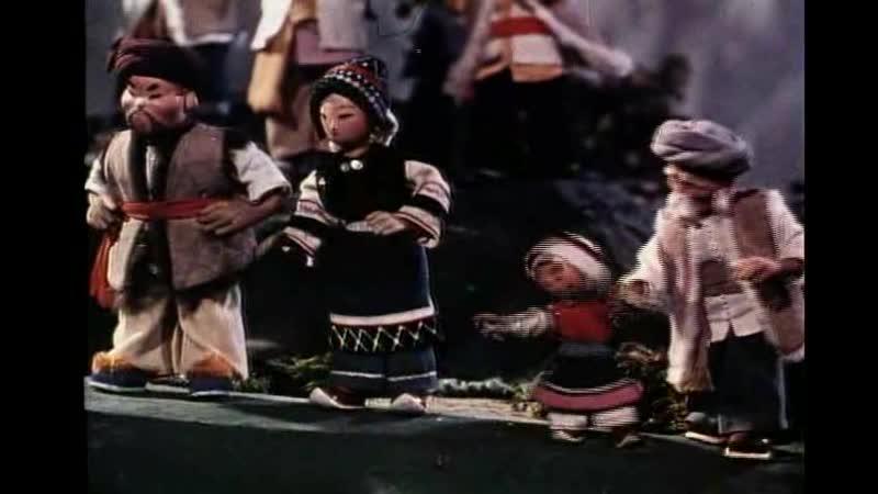 Китай мультфильм 上海美术电影制片厂 1959 雕龙记