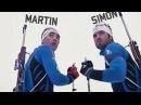 Martin et Simon Fourcade dans Frères darmes 2011