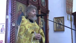 Иерей Сергий Макаров - проповедь в Неделю 21-ю по Пятидесятнице