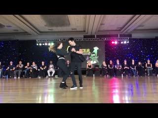 Swingtacular 2019 Champions JnJ - Jordan Frisbee and Alyssa Glanville 1st Place