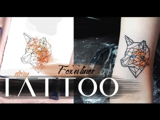 Tattoo story fox'n' lines