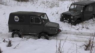 ЛуАЗ 969 против УАЗа и НИВЫ  OFF-ROAD на советских внедорожниках!
