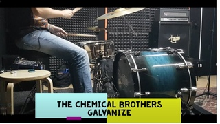 The chemical brothers - Galvanize - drumcover by Evgeniy sifr Loboda