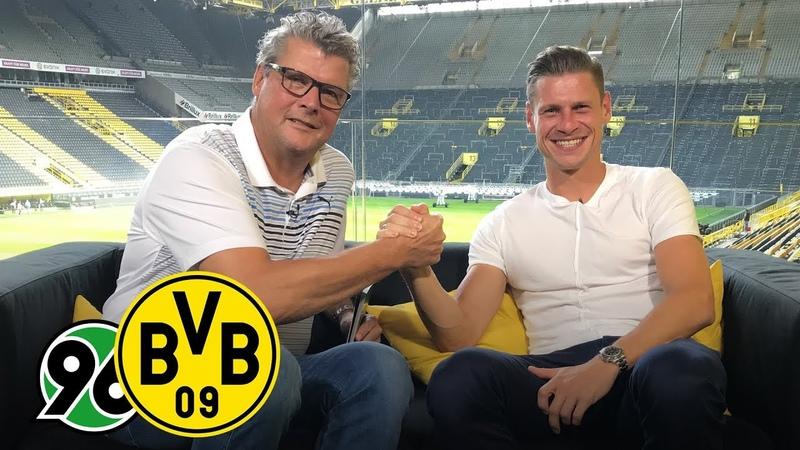 Lukasz Piszczek joins BVB Matchday Magazine Hannover 96 BVB Matchday 2