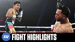 Biggie Rodriguez drops Soriano 3 times in the 1st Round to stay undefeated   FIGHT HIGHLIGHTS