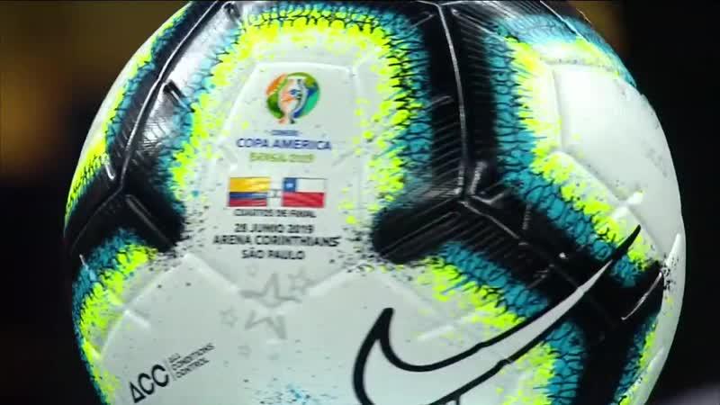 Кубок Америки 2019 1 4 финала Сборная Колумбии Сборная Чили 28 06 19