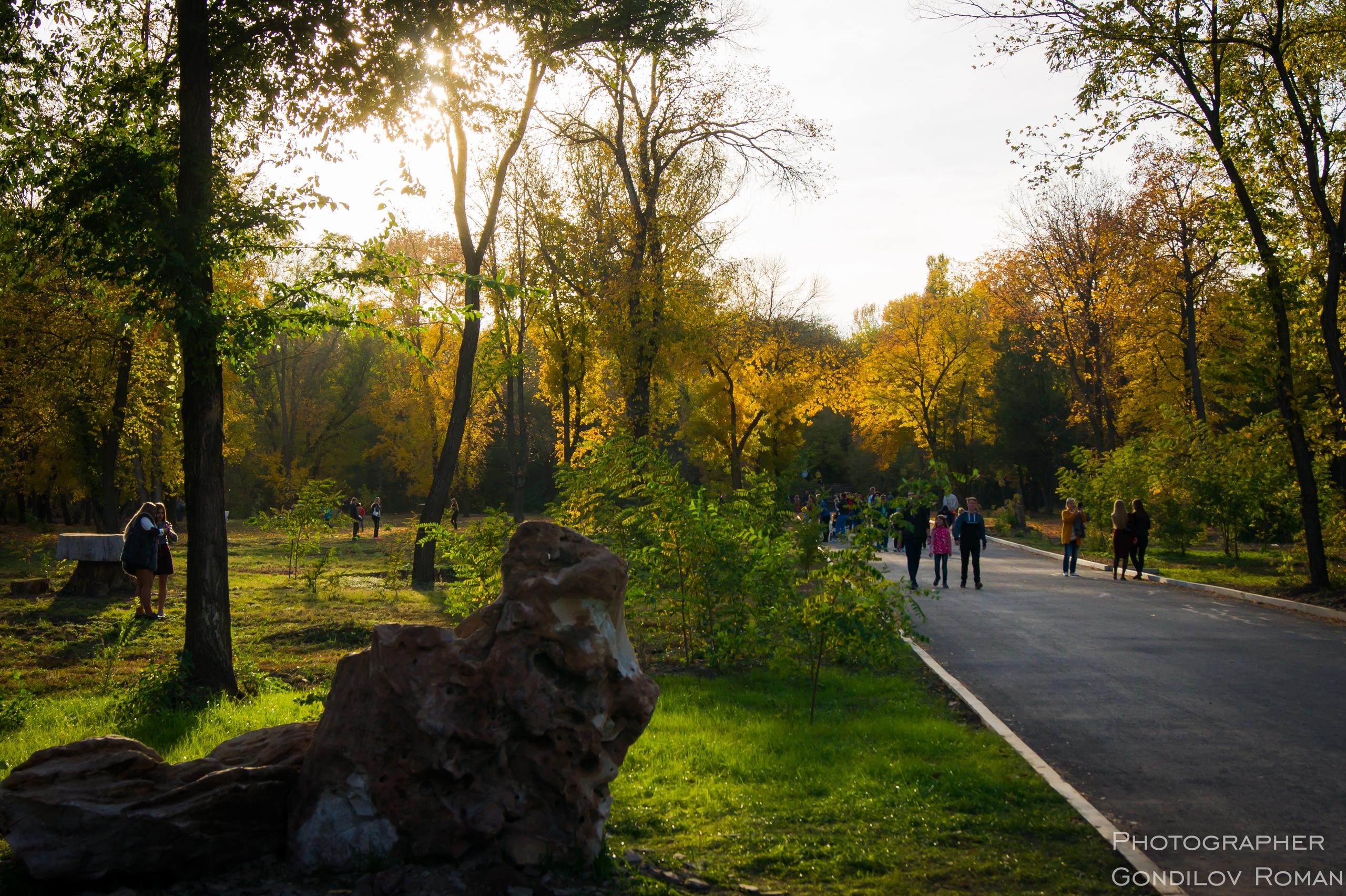 Такая красота в парке им.