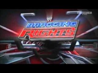 WWE Bragging Rights (2009) Pyro