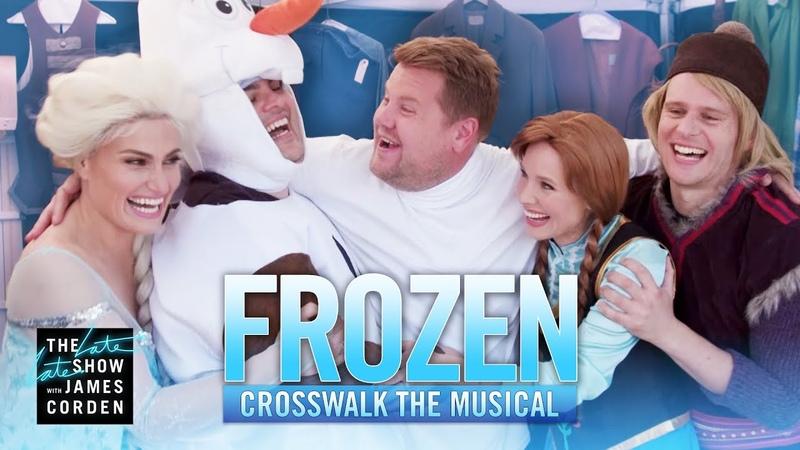 Crosswalk the Musical: Frozen ft. Kristen Bell Idina Menzel Josh Gad Jonathan Groff