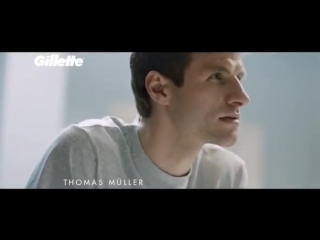 Thomas Muller | Gillette commercial (2018)