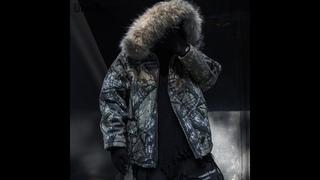 Мужская камуфляжная куртка una reta, повседневная уличная парка в стиле хип хоп с большим меховым воротником и капюшоном, зима