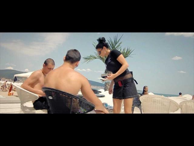 Beach Bar Mania SUNNY BEACH Topless DJane Husky