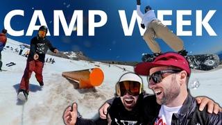 The Biggest Summer Snowboarding Camp Week Ever
