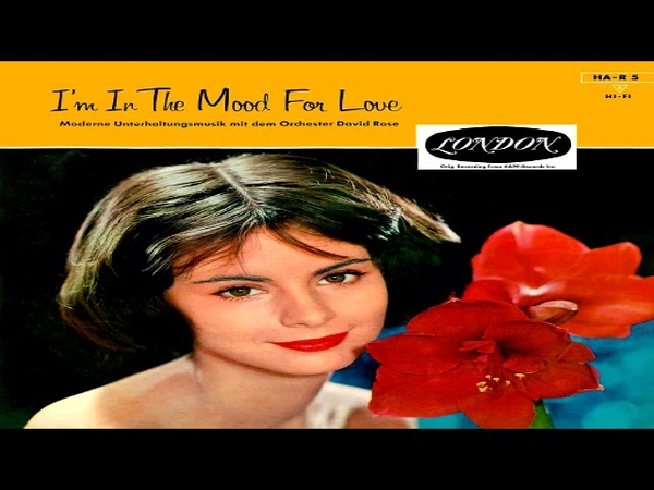 David Rose I'm in the Mood for Love GMB