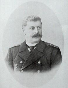 Лейтенант Плотто Александр Владимирович (1869-1948), командир «Отдельного отряда миноносцев Владивостокского отряда крейсеров», командир подводной лодки «Касатка» (1904-1906).