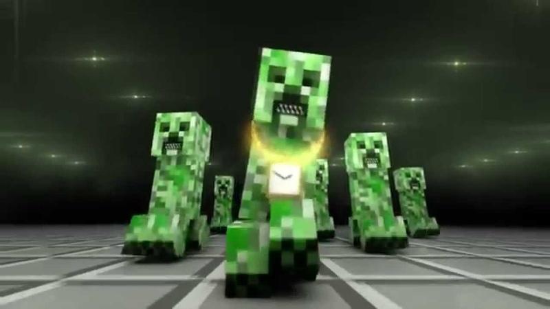 Песня Minecraft Рэп Крипера RUS