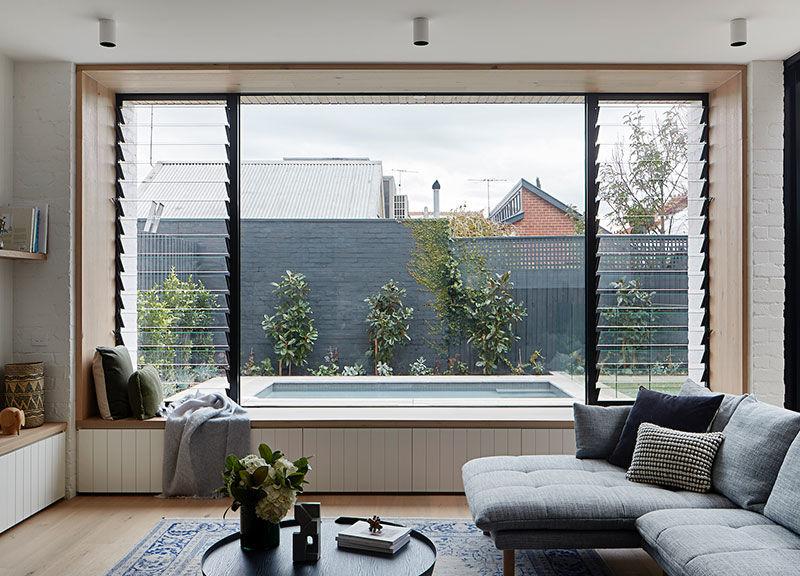 Современный интерьер для семьи с тремя детьми в доме эдвардианской эпохи в Мельбурне || 01