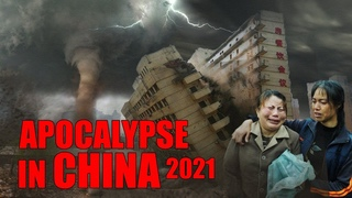 A hurricane destroys houses in China!   Apocalypse?