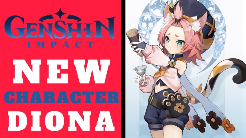 Genshin Impact NEW CHARACTER Diona! Lets Check Demo Video Everything We Know! (NEW F2P ARPG 2020)