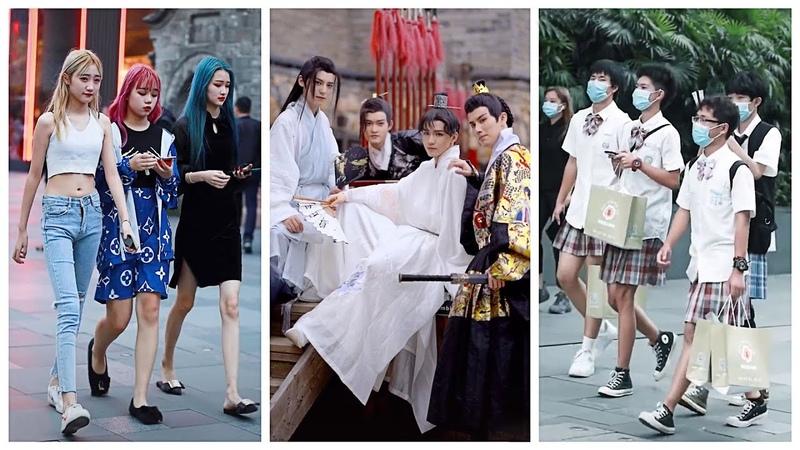 Mejores Street Fashion Tik Tok Thời Trang Đường Phố Trung Quốc 11